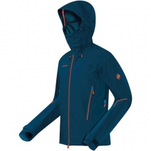 Nordwand Pro HS Hooded Jacket - Men's: Black, Medium by Mammut
