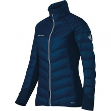 womens flexidown jacket marine by Mammut