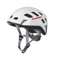 - Rock Rider Helmet - 61 - White / Smoke