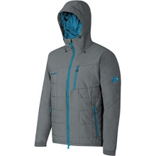 - Alvier IS Hooded Jt M - X-LARGE - Titanium Melange Atlantic by Mammut