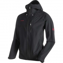 Men's Runbold Trail SO Hooded Jacket by Mammut