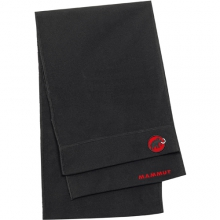 Fleece Scarf: Black