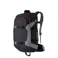 Ride 30 R.A.S. Avalanche Airbag Backpack: Black/Smoke by Mammut