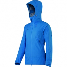 Larain Jacket - Women's: Imperial/Dark Merlin, Small by Mammut