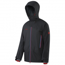 Verbier Jacket Mens Closeout (Graphite/Inferno) by Mammut