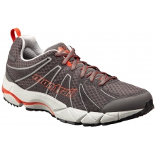 - Fluid Feel II Mens - 9 - City Grey/ Red Quartz by Montrail