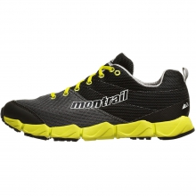 Fluidflex II Shoe Mens - Quarry/Chartreuse 11 by Montrail