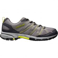 Mountain Masochist 3 Shoe Mens - Light Grey/Chartreuse 11.5 by Montrail