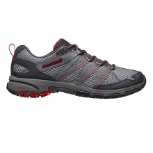 mens mountain masochist iii light grey/ rocket by Montrail