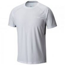 by Columbia Titan Ultra Short Sleeve Running Shirt Men's, White, L