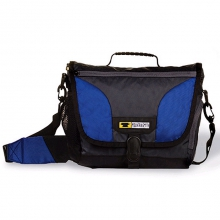 Recycled Messenger Bag Small - Cobalt