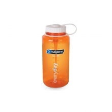 Tritan Wide Mouth Bottle - New Orange 32 oz by Nalgene