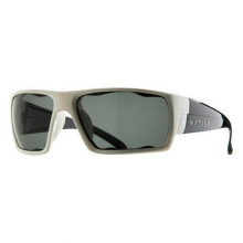 Gonzo White Front/Iron Temple Sunglasses