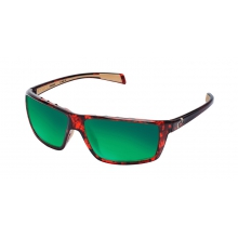 - Sidecar Sunglasses - Maple Tort/Green Reflex Lens by Native Eyewear