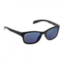 Highline Polarized Reflex Sunglasses - Asphalt/Blue Reflex