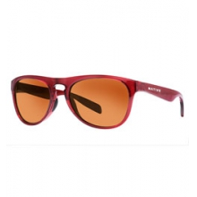Sanitas Sunglasses - Crimson/Brown by Native Eyewear in Ashburn Va