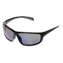 Bigfork Polarized Reflex Sunglasses - Iron/Blue Reflex