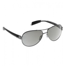 Haskill Polarized Aviator Sunglasses with Reflex Lenses - Gunmetal & Crystal/Silver Reflex in Pocatello, ID