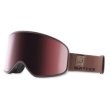 Native Tenmile Ski Goggle - Unisex - Exposure/Rose/Silver