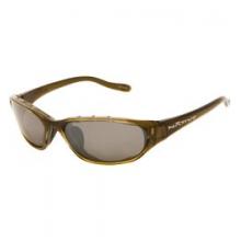 Native Throttle Reflex Polarized Sunglasses - Closeout - Moss/Silver Reflex by Native Eyewear