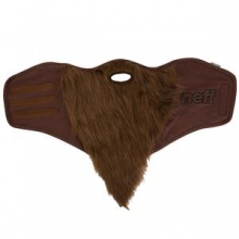 Bearded Snowboard Facemask, Brown by Neff
