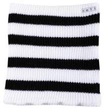 Daily Stripe Neck Gaiter Adults', White/Black