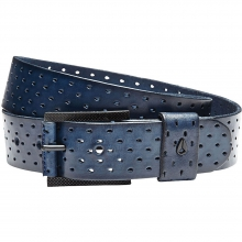 Americana Belt II Mens - Navy S by Nixon