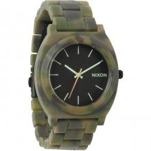 Time Teller Acetate Watch - Mate Black/Camo by Nixon