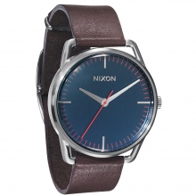 Mellor Watch Mens - Navy/Brown by Nixon