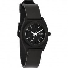 Small Time Teller P Watch Womens - Black/Silver/Green by Nixon