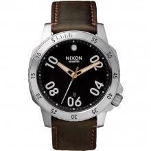 Ranger Leather Watch Mens - Black/Brown by Nixon
