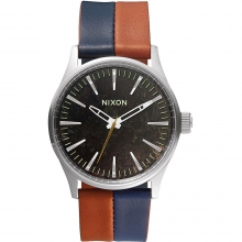 Sentry 38 Leather Watch Mens - Dark Copper/Navy/Saddle in State College, PA