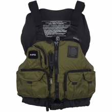Chinook Fishing Mesh Back PFD - Bark by NRS