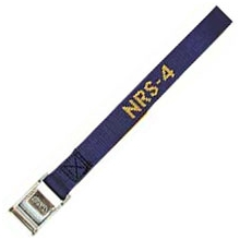 """NRS 1"""" HD Tie Down Strap 4' by Nrs (northwest River Supplies)"""