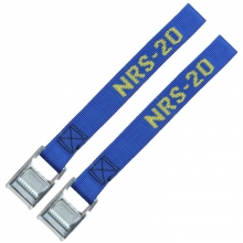 """NRS 1"""" HD Tie Down Strap 20' Pair by NRS"""
