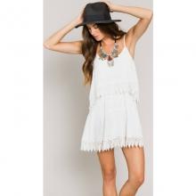 Womens Joan Dress - Closeout White Large by O'Neill
