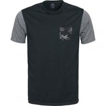 Skins Pocket Surf Tee - Men's: Black/Graphite, Medium by O'Neill