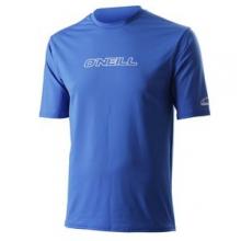 Skins Basic Rashguard T-Shirt Men's, Royal, L by O'Neill