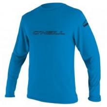 Basic Long Sleeve Rash T-Shirt Men's, Blue, S by O'Neill