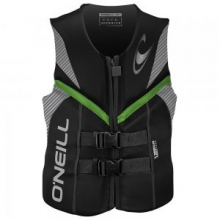 Reactor USCG Life Vest Men's, Black, S by O'Neill