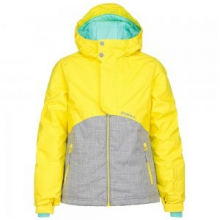 Coral Insulated Snowboard Jacket Girls', Sunshine, 12 by O'Neill