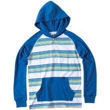 Kenny Hooded Shirt - Boy's: Royal, Small by O'Neill