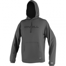 24/7 Tech Long Sleeve Hoodie - Men's: Graphite, Extra Large by O'Neill