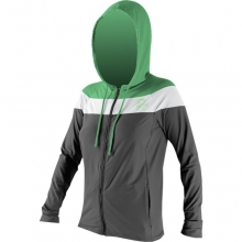 24/7 Tech Long Sleeve Zip Hoodie - Women's: Graphite/White/Mint, Small by O'Neill
