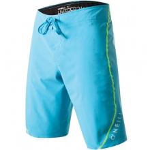 Hyperfreak Techno Butter Board Shorts - Men's: Lumo Blue, 32 by O'Neill