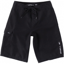 Santa Cruz Solid Board Shorts - Boy's: Black, 22 by O'Neill