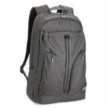Lassen Backpack - Women's: Pebble Gray/Gray Pinwheel Print by Overland Equipment