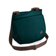 Isabella Shoulder Bag: Teal/Dove