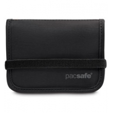 RFIDtec 50 Blocking Compact Bi-Fold Wallet - Black