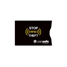 RFIDsleeve 25 Credit Sleeve - New Black by Pacsafe